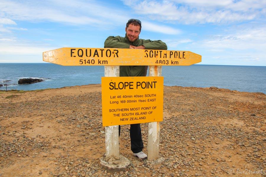 Slope Point – Der Südlichste Punkt Neuseelands