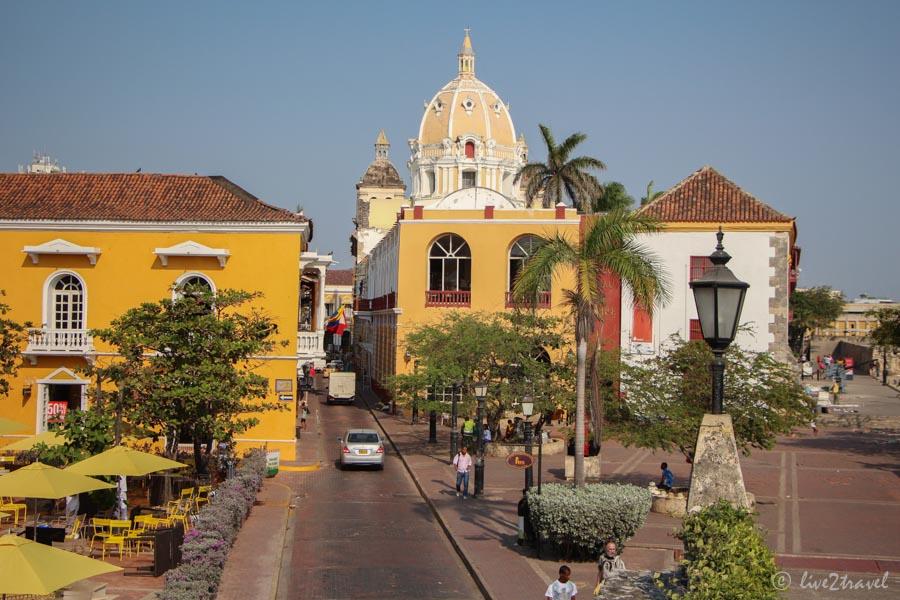 In Der Altstadt Vom Cartagena