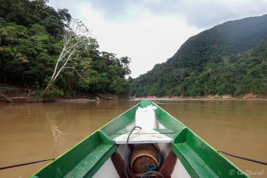 Mit Dem Boot Zur Dschungel Lodge